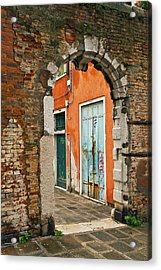 Venice Passage Acrylic Print by Art Ferrier