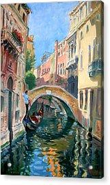 Venice Ponte Widmann Acrylic Print