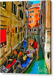 Acrylic Print featuring the photograph Venice. Splendid Svisse by Juan Carlos Ferro Duque