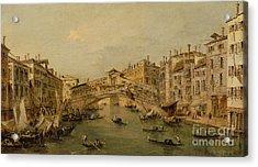 Venice  The Rialto Acrylic Print