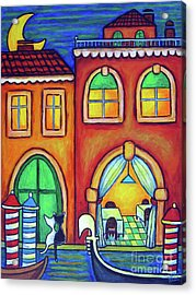 Venice Valentine II Acrylic Print