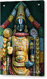 Venkateswara Acrylic Print by Tim Gainey