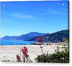Acrylic Print featuring the photograph Ventimiglia Italia by Michelle Dallocchio