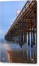 Ventura Ca Pier At Dawn Acrylic Print