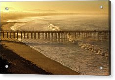 Ventura, Ca Pier At Sunrise Acrylic Print