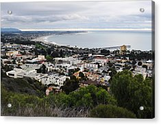 Ventura Coast Skyline Acrylic Print