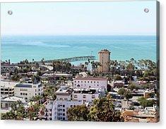 Ventura Coastal View Acrylic Print