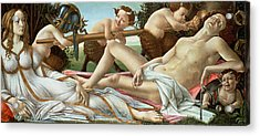 Venus And Mars Acrylic Print by Sandro Botticelli