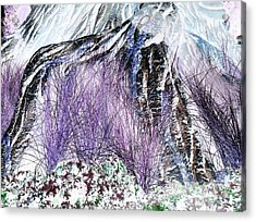 Venus Blue Garden Acrylic Print