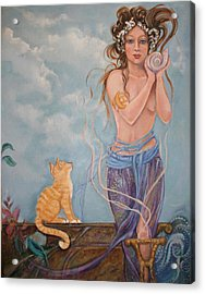 Venus  Acrylic Print by Catherine Moore