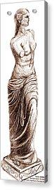 Venus Demilo Acrylic Print by Khaila Derrington