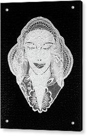 Venus Acrylic Print by Marie Halter
