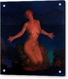 Venus Acrylic Print by Michael Newberry