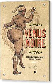 Venus Noire Acrylic Print