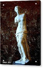 Venus Of Milo By Taikan Acrylic Print