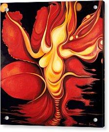 Venus Rising 2012 Acrylic Print