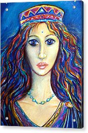 Venus Acrylic Print by Tania Williams