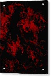 Venus Williams On Fire Acrylic Print