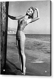 Vera-ellen, Ca. 1940s Acrylic Print