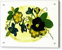 Veranda Acrylic Print by Kathie McCurdy