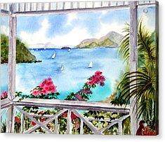 Veranda View Acrylic Print