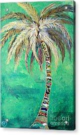 Verdant Palm Acrylic Print