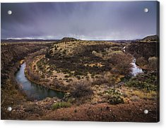 Verde River Horseshoe Acrylic Print