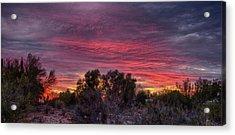 Verigated Sky Acrylic Print