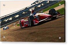 Verizon Indycar Series - 2 Acrylic Print by Andrea Mazzocchetti