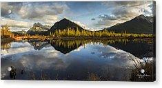 Vermillion Lakes Acrylic Print