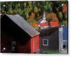 Vermont Again Acrylic Print