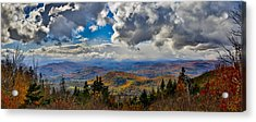 Vermont Autumn From Mt. Ascutney Acrylic Print
