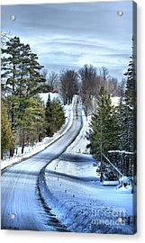 Vermont Country Landscape Acrylic Print