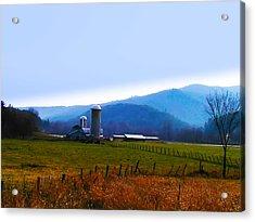 Vermont Farm Acrylic Print by Bill Cannon