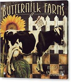 Vermont Farms Cow Acrylic Print