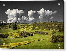 Vermont Landscape # 1 Acrylic Print