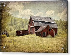 Vermont Red Barn  Acrylic Print