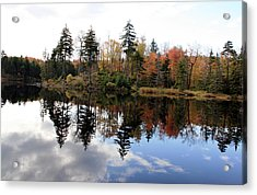 Vermont Reflections 2 Acrylic Print by George Jones