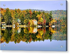 Vermont Reflections Acrylic Print