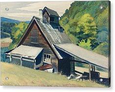 Vermont Sugar House Acrylic Print