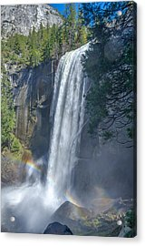 Acrylic Print featuring the photograph Vernal Fall Yosemite National Park by Scott McGuire