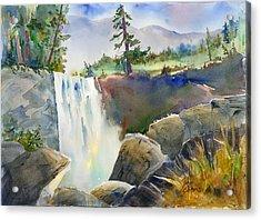 Vernal Falls Acrylic Print
