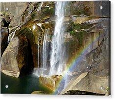 Vernal Falls Mist Trail Acrylic Print
