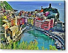Vernazza Alight Acrylic Print