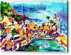 Vernazza Cinque Terre Italy Acrylic Print