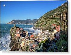 Vernazza In Cinque Terre Acrylic Print