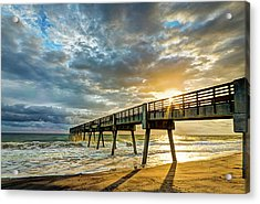 Vero Beach Pier Summertime Acrylic Print