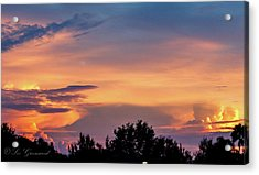 Vero Sunrise Acrylic Print