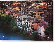 Verona City Of Romance Acrylic Print by Carol Japp
