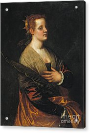Veronese Acrylic Print by Celestial Images